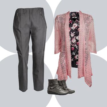 Crochet shirt, pants, and boots