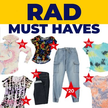 rad must haves